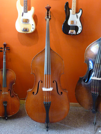 carl wilhelm lederer double bass upright bass for sale